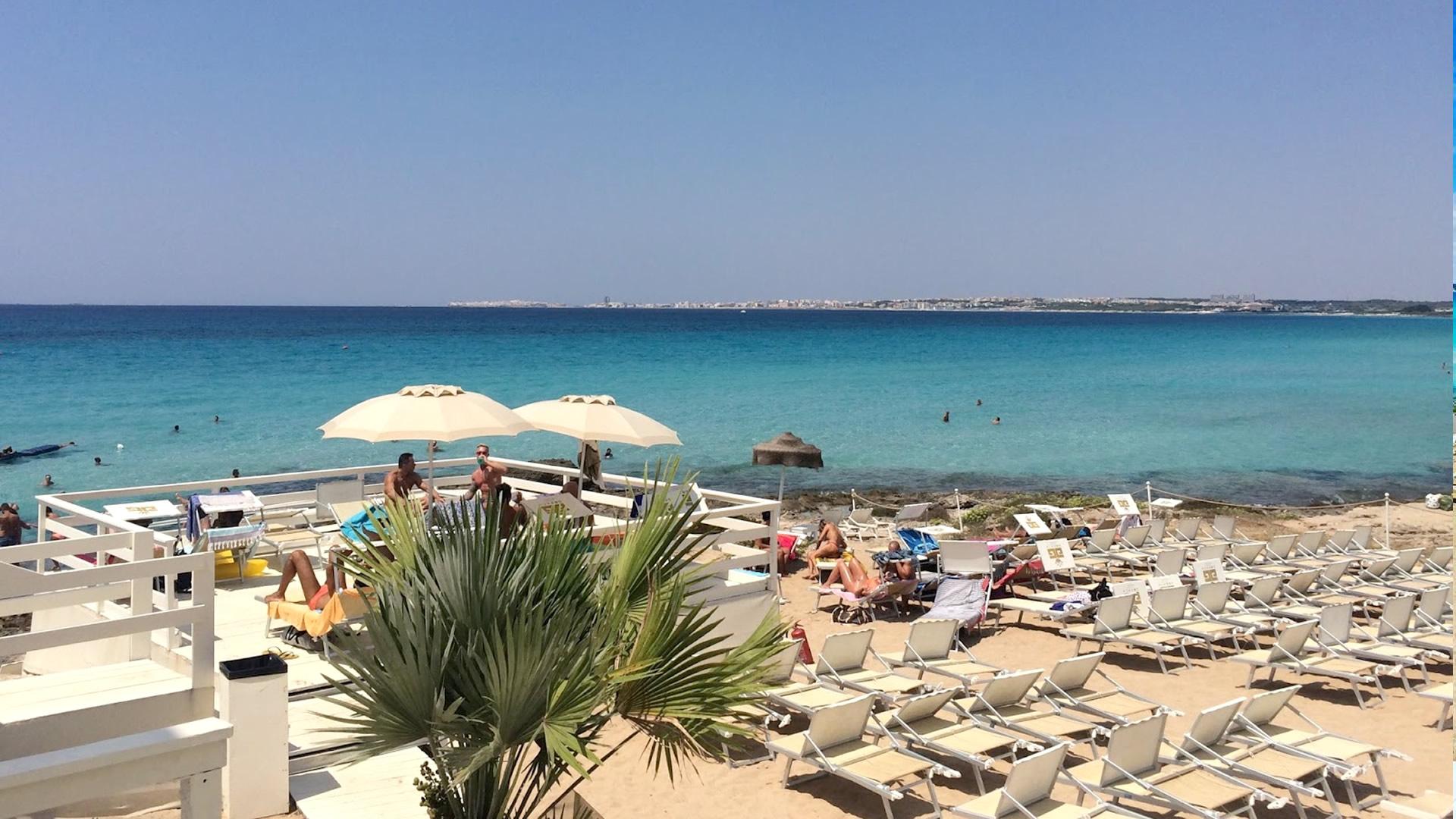 Spiagge attrezzate di Gallipoli convenzionate